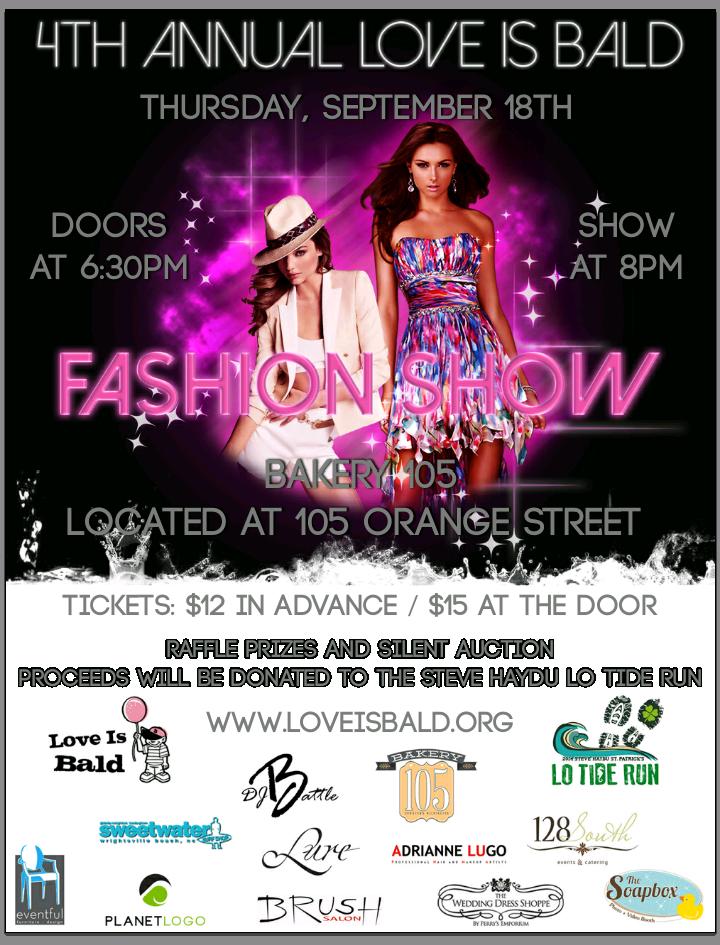 2014 Fashion Show flyer