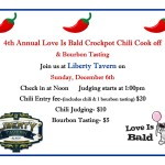 2015 Chili cook off flyer
