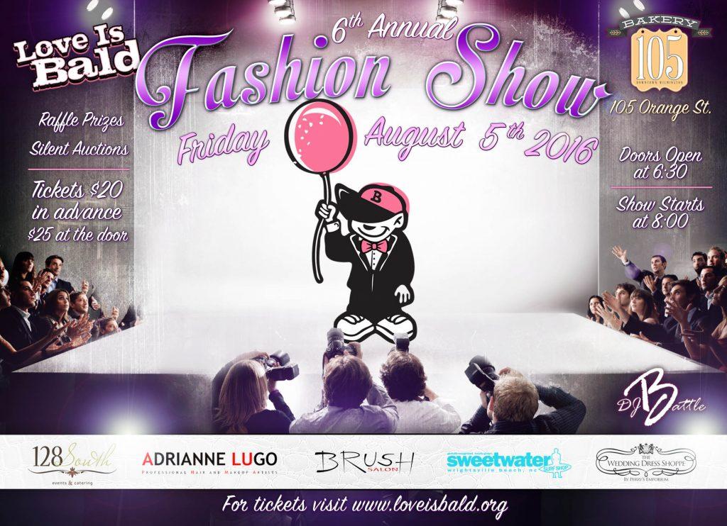 2016 Fashion Show Flyer
